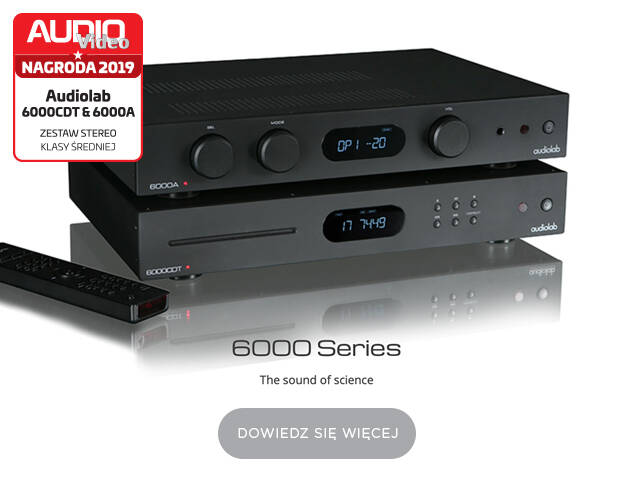 Audiolab 6000 z nagrodą roku Audio-Video