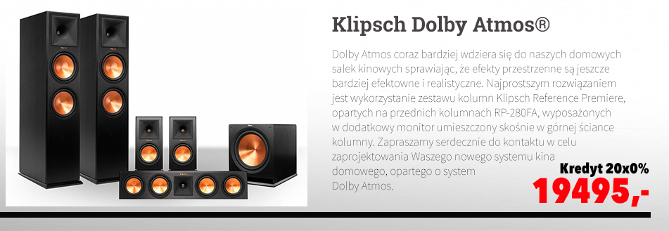 Klipsch Reference Premiere Dolby Atmos